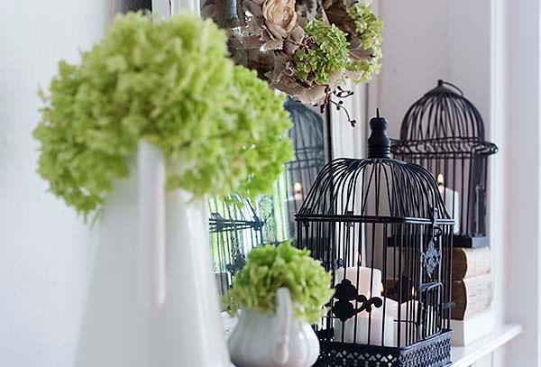 Декоративные клетки в стиле Прованс — дизайн интерьера в духе французского кантри