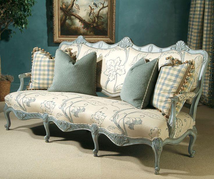 Диваны в стиле Прованс: 15 фото мягкой мебели