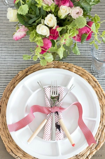 Романтический декор на день влюбленных - фото во французском стиле