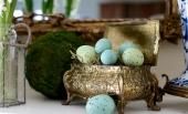 Идеи пасхального оформления в синем цвете - 32 фото в стиле французского кантри | Дизайн в стиле Прованс - французский стиль кантри в вашем доме