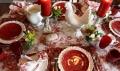 Красивый новогодний стол 2017: 7 фото в красном цвете | Дизайн в стиле Прованс - французский стиль кантри в вашем доме
