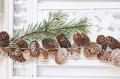 Новогодние композиции из шишек: 20 фото в провинциальном стиле | Дизайн в стиле Прованс - французский стиль кантри в вашем доме