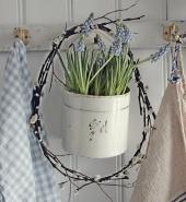 Пасхальный интерьер - 30 фото в стиле кантри Прованса | Дизайн в стиле Прованс - французский стиль кантри в вашем доме
