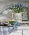 Весенние композиции из цветов - 20 фото в стиле кантри | Дизайн в стиле Прованс - французский стиль кантри в вашем доме