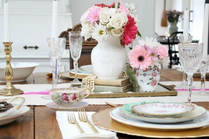 Романтический стол на 14 февраля — 12 фото в стиле Прованс