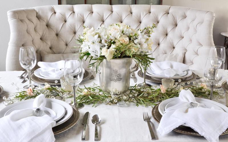 Праздничный стол на день влюбленных — 8 фото во французском стиле