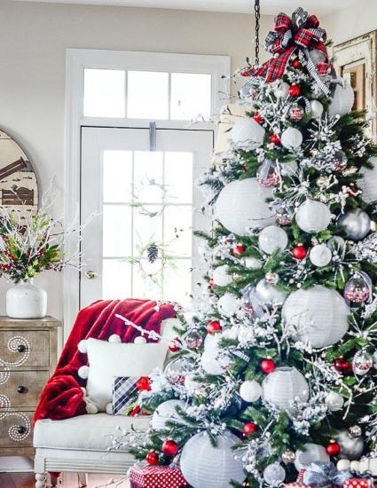 Красивый новогодний интерьер дома: 22 фото в стиле Прованс