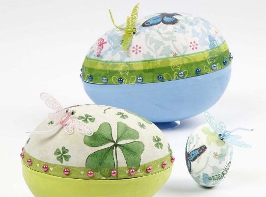 5 видов декупажа пасхальных яиц: мастер-классы