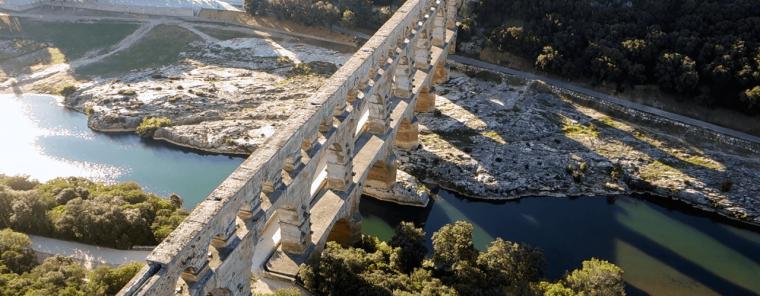 Акведук Пон-дю-Гар – величие солнечного Прованса