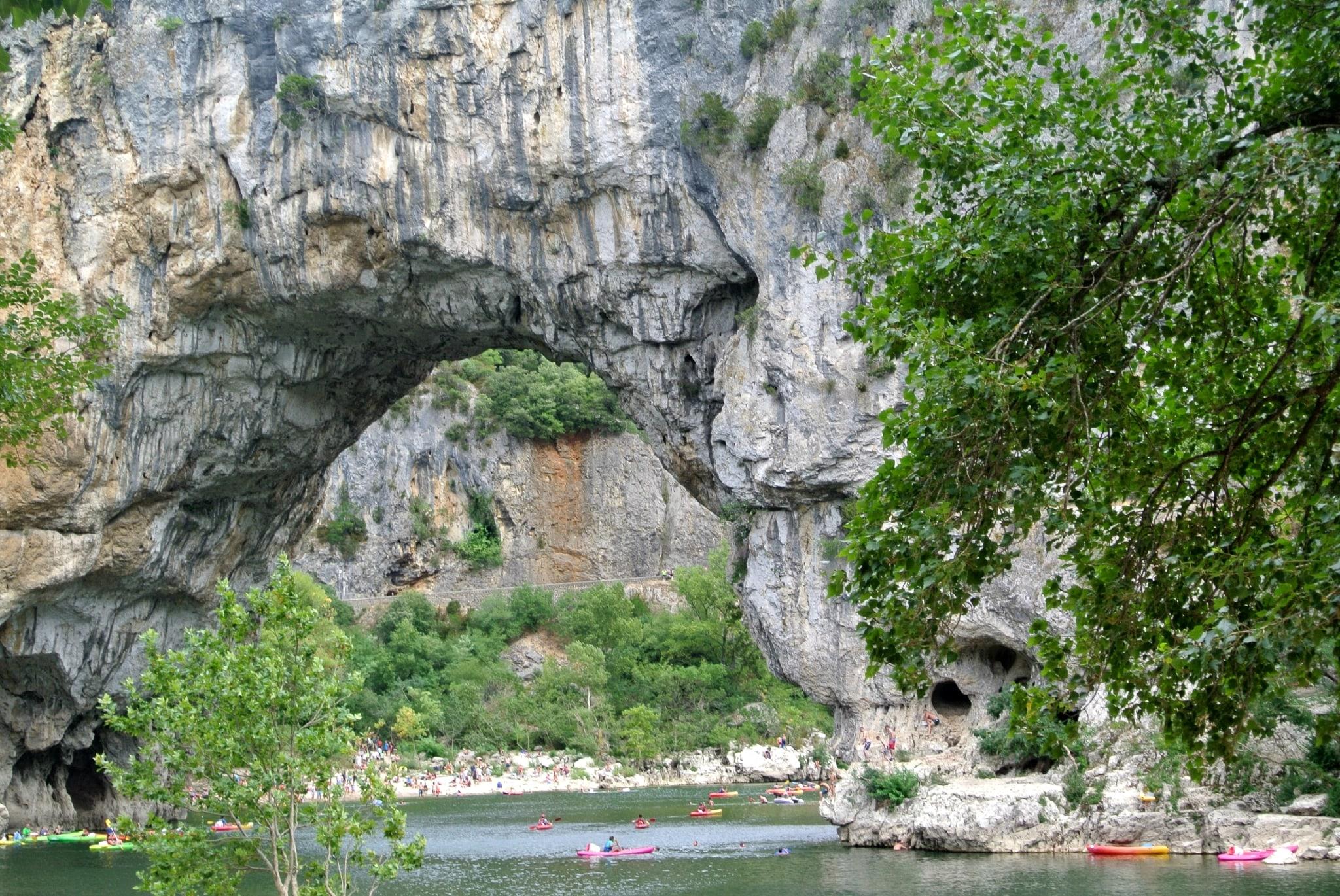 Мистическое ущелье Ардеш во Франции