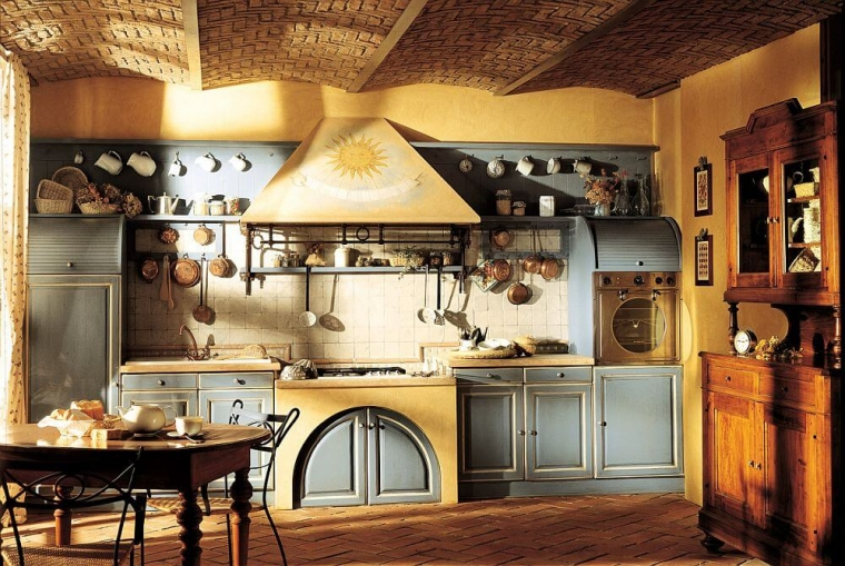 Колоритная кухня в стиле Прованс