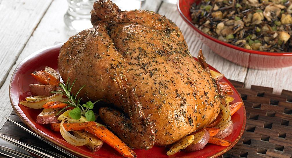 Курица с прованскими травами