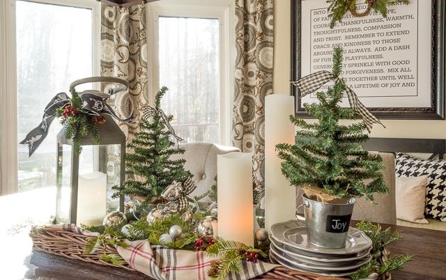 Как украсить дом к Новому году в стиле Прованс