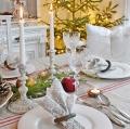 Новогодний стол в провинциальном стиле: 15 фото | Дизайн в стиле Прованс - французский стиль кантри в вашем доме