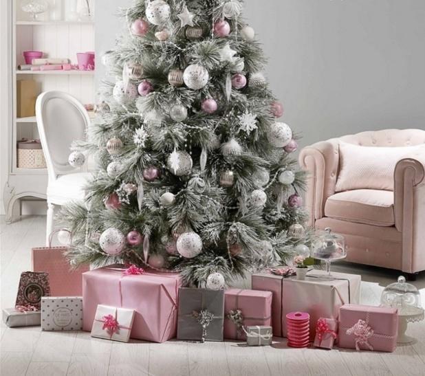 Новогодняя елка в стиле Прованс