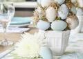 Пасхальное дерево-топиарий из яиц: мастер-класс | Дизайн в стиле Прованс - французский стиль кантри в вашем доме