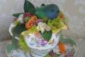 Пасхальное гнездо с птичкой своими руками: 15 фото | Дизайн в стиле Прованс - французский стиль кантри в вашем доме