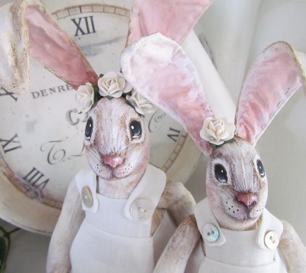 Пасхальный кролик своими руками: 10 фото