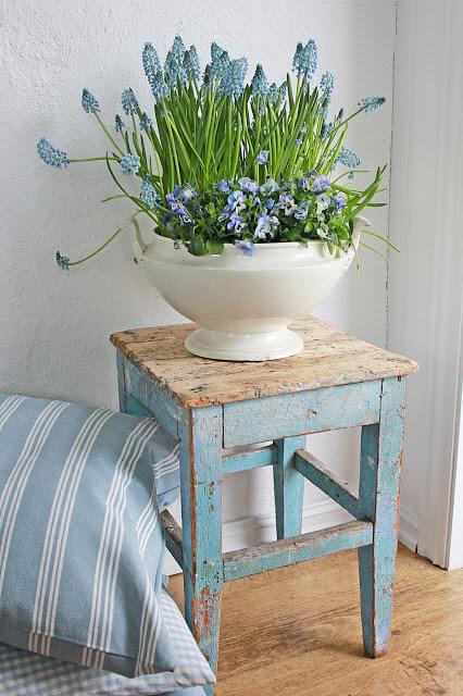 Керамические вазы для цветов в стиле Прованс