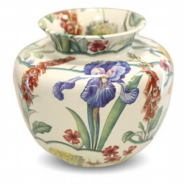 Декор керамических ваз в стиле Прованс