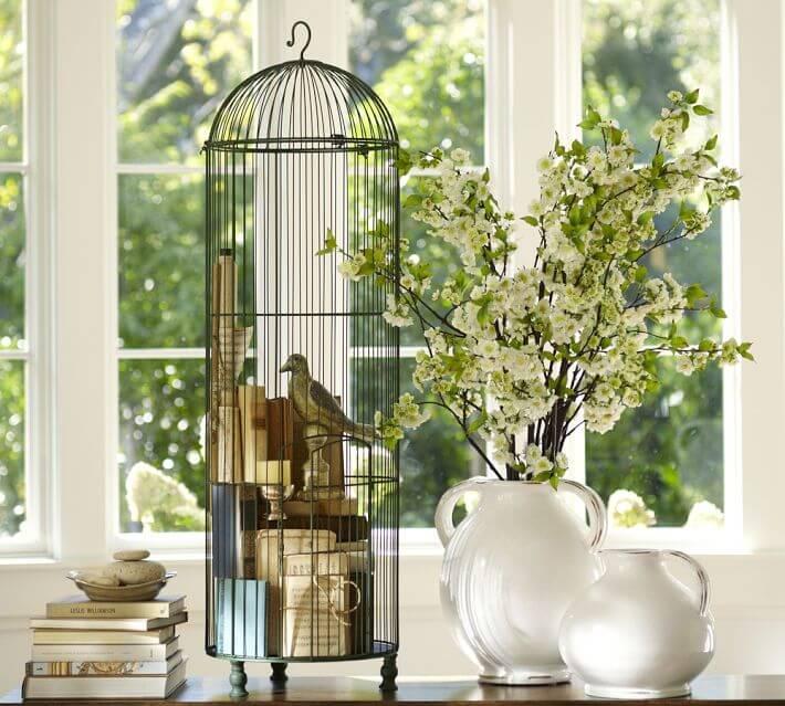 Белые фарфоровые вазы в стиле Прованс фото