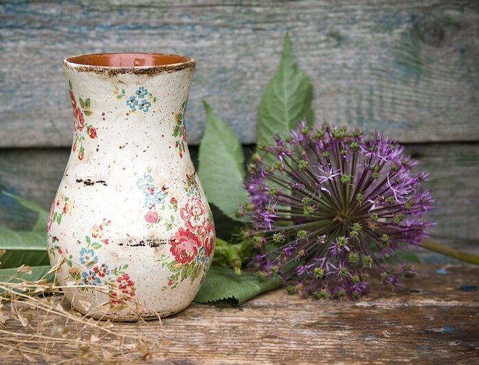 Утонченные вазы в стиле Прованс – цветочный рай в вашем доме