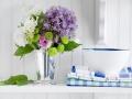 Обновленный весенний интерьер: 22 фото   Дизайн в стиле Прованс - французский стиль кантри в вашем доме